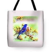 1795 - Blue Grosbeak Tote Bag