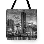 17th Street Dawn Atlantic Station Millennium Gate Art Tote Bag