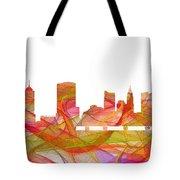 Columbus Ohio Skyline Tote Bag