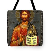Jesus Christ Catholic Art Tote Bag