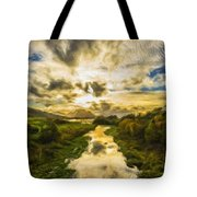 Landscape Color Tote Bag