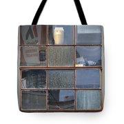 18 Panes Tote Bag