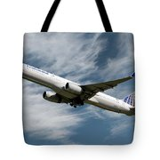 United Airlines Boeing 757-224 Tote Bag