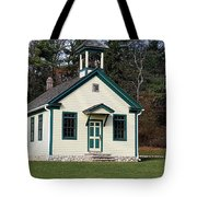 1800's School House 1 Tote Bag