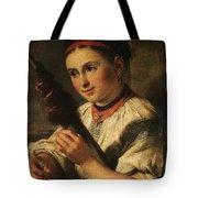 1820- Vasily Tropinin Tote Bag