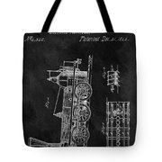 1845 Railroad Patent Tote Bag