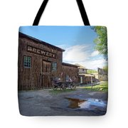 1863 H. S. Gilbert Brewery - Virginia City Ghost Town Tote Bag