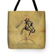 1874 Horse Blinder Patent Tote Bag