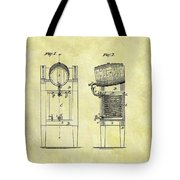 1876 Beer Cooler Patent Tote Bag