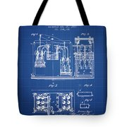 1877 Bottling Machine Patent - Blueprint Tote Bag