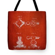 1879 Exercise Machine Patent Spbb08_vr Tote Bag