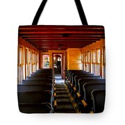 1880 Train Interior Tote Bag