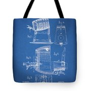 1883 Beer Faucet Design Tote Bag