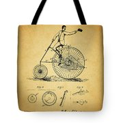 1883 Bicycle Tote Bag