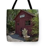 1883 Little Red Schoolhouse Tote Bag