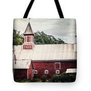 1886 Red Barn Tote Bag