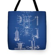 1890 Bottling Machine Patent - Blueprint Tote Bag