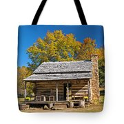 1890's Farm Cabin Tote Bag