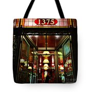 1890s New York - Old - Fashioned Wine Shop Tote Bag