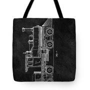 1891 Locomotive Engine Patent Tote Bag