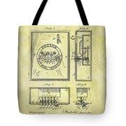 1895 Police Call Box Tote Bag