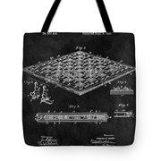 1896 Chessboard Patent Tote Bag