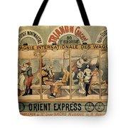 1896 Orient Express Musical Revue Paris Tote Bag