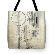 1897 Banjo Patent Tote Bag
