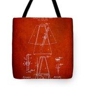 1899 Metronome Patent - Red Tote Bag