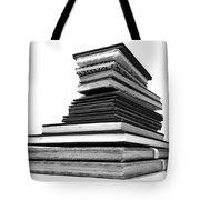 1.8.stack-of-sketch-books Tote Bag