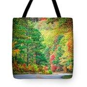 Autumn Season On Blue Ridge Parkway Tote Bag
