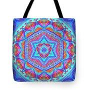 Birth Mandala- Blessing Symbols Tote Bag