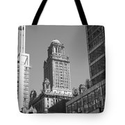 Chicago Skyscrapers Tote Bag