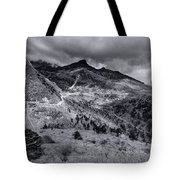 Curvy Roads Silk Trading Route Between China And India Tote Bag