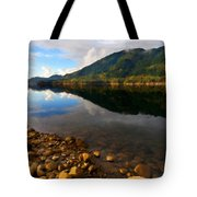 Landscape Acrylic Painting Tote Bag