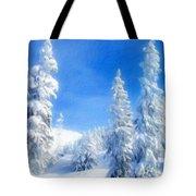 Landscape Color Tote Bag