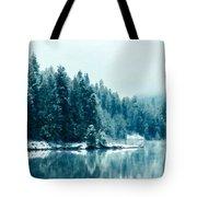 Landscape Modern Tote Bag