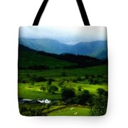 P W Landscape Tote Bag