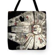 Saga Star Wars Art Tote Bag
