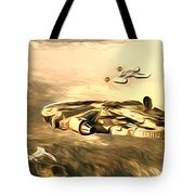 Star Wars For Art Tote Bag