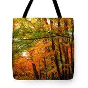 Nature Landscape Oil Tote Bag