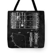 1900 Orchestra Drum Patent Tote Bag