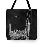1902 Oil Well Patent Tote Bag
