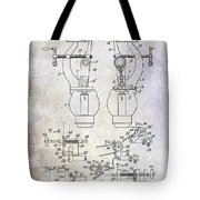 1902 Watchmakers Lathes Patent Tote Bag