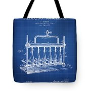 1903 Bottle Filling Machine Patent - Blueprint Tote Bag
