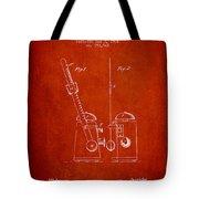 1904 Metronome Patent - Red Tote Bag