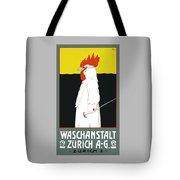 1904 Waschanstalt Zurich Advertising Poster Tote Bag