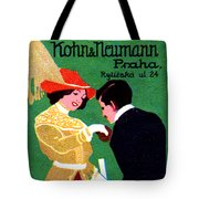 1905 Prague Fashion Poster Tote Bag