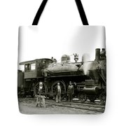 1905 Rail Engineers And Engine 1134 Tote Bag
