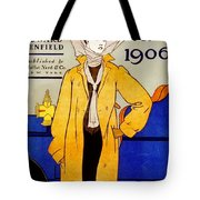 1906 Automobile Calender Tote Bag